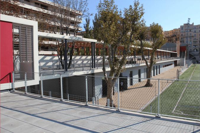 Filet GEOP_Amenagemement urbain_Stade Vallier Marseille